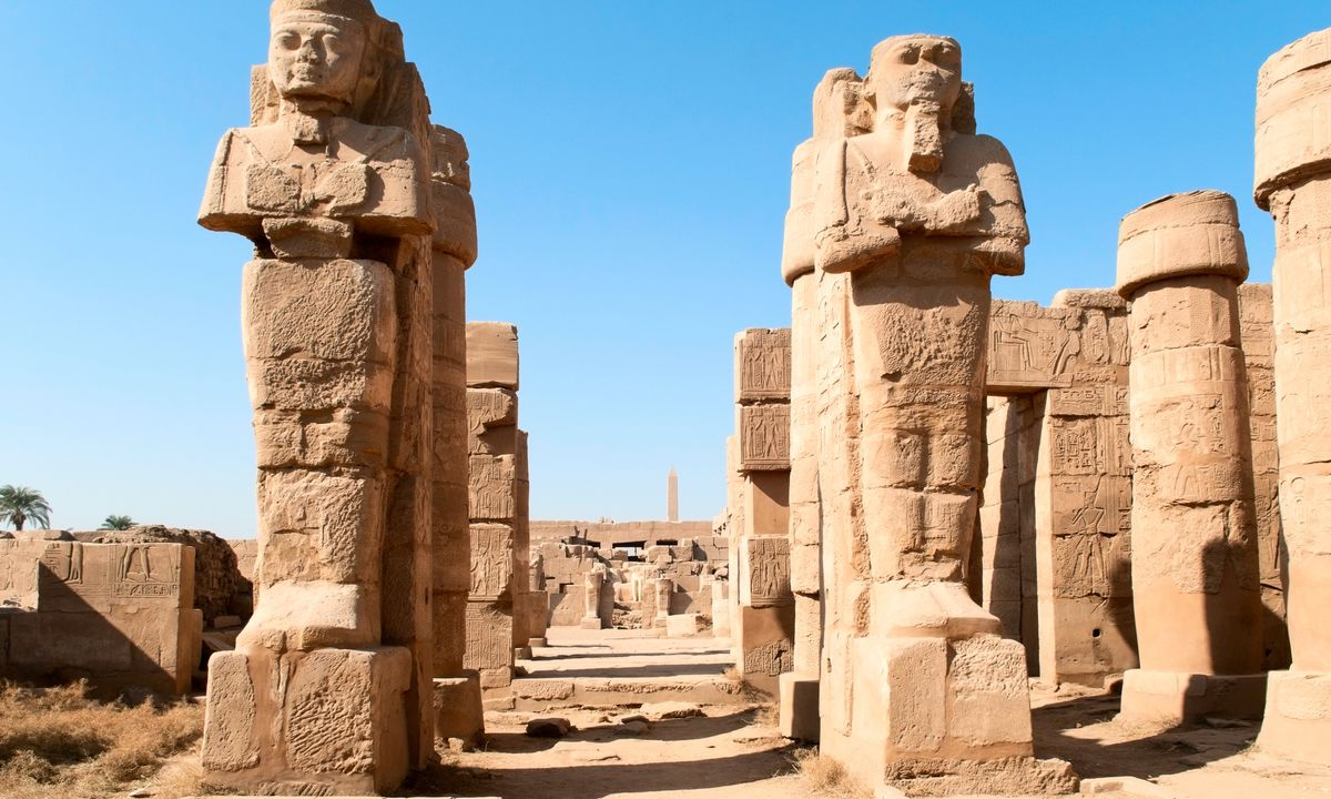 famous places in egypt
